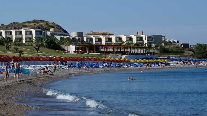 Greek islands with the most beachfront hotels: Crete, Corfu and Rhodes top the list