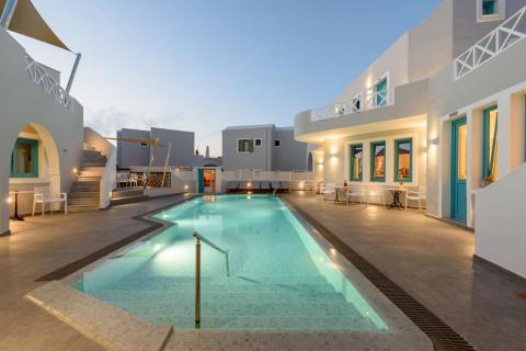 Ξενοδοχεία στην Ελλάδα που μπορούν οι επισκέπτες να φτάσουν στην πόρτα του δωματίου τους από εξωτερικό χώρο
